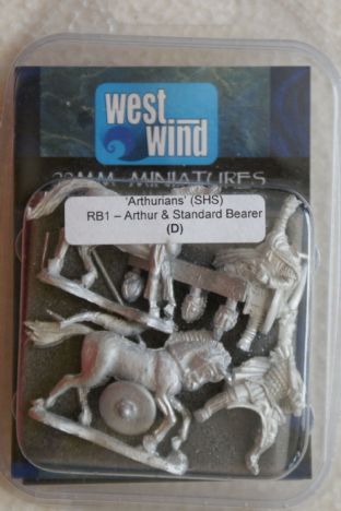 Westwind 28mm RB-01 Mounted Arthur & Standard Bearer